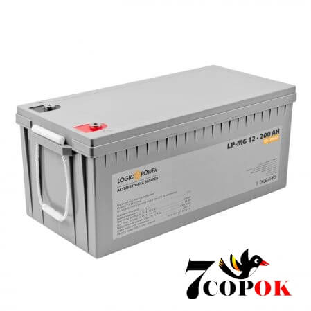 LogicPower AGM LP-MG 12 - 200 AH