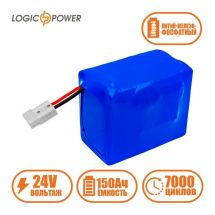 LogicPower LP LiFePo4 24V 150Ah BMS 80A